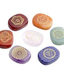 Chakra Healing Stone Set