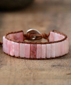 Pink Opal Healing Bracelet