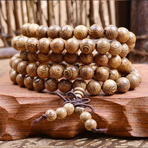 Buddhist Wooden Mala